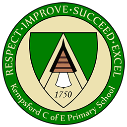 Large Kempsford School Logo featuring RISE